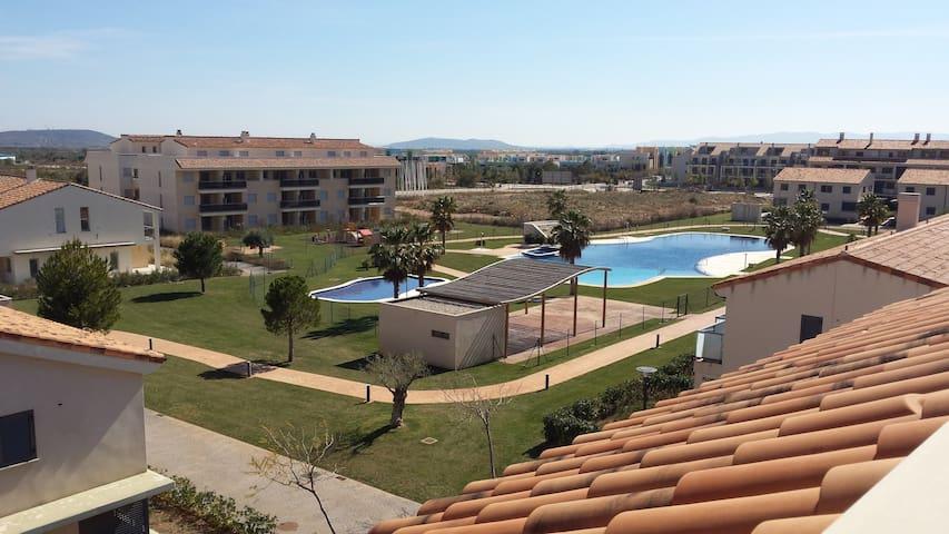 Atico-Duplex Panoramica Golf - Sant Jordi - 公寓
