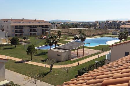 Atico-Duplex Panoramica Golf - Sant Jordi - Apartemen