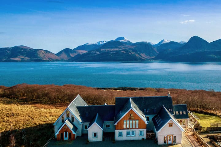 Big House Rental Argyll Arran Skipness Suleskerry - Skipness - Haus