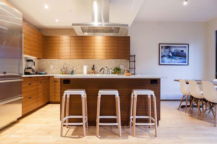 Sunny NoHo Penthouse with Two Terraces! - New York - Condominium