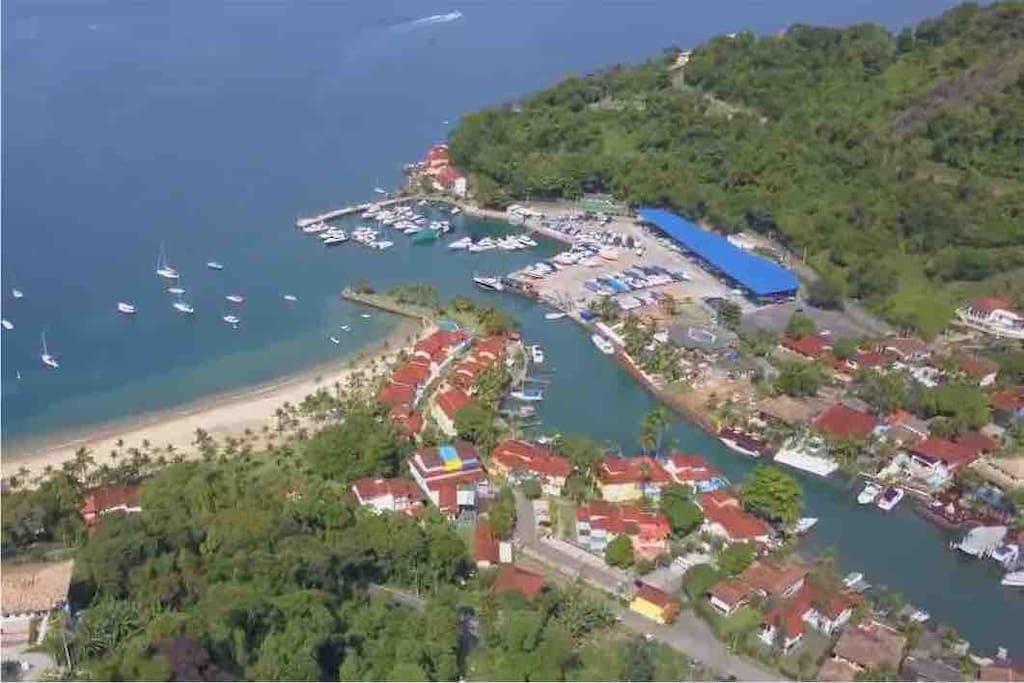 Vista aérea do Village Portogalo