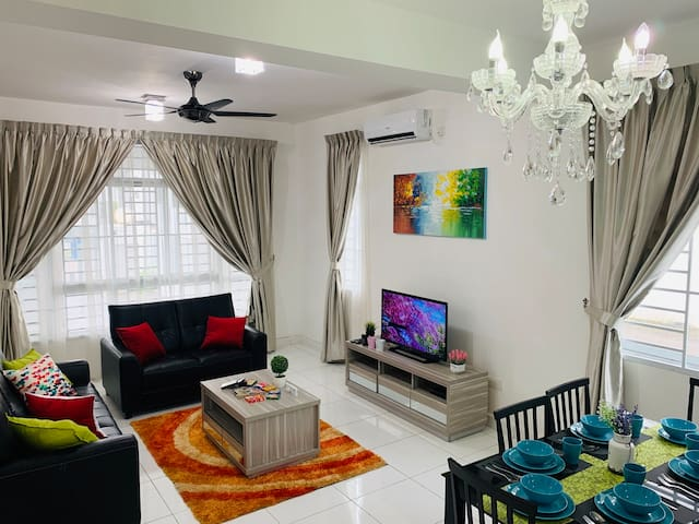 🌞[Comfy Homestay for 5-8pax] 🌈#Waterpark/Beachツ