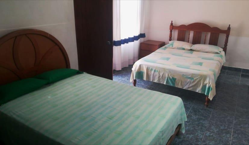 Habitación Familiar, para 5 a 6 personas.