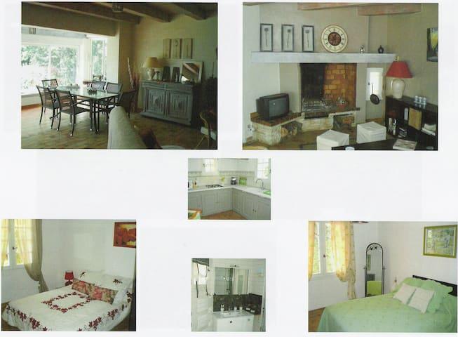 villa avec piscine location à la quinzaine - Monteils - Villa