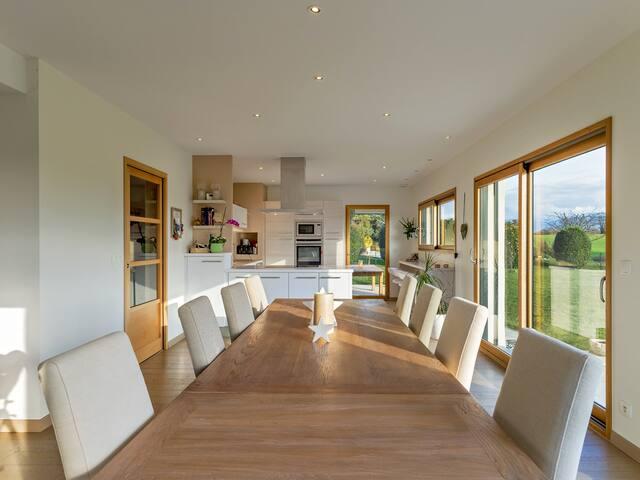 Maison tranquille, près du Lac Léman et Yvoire - Messery - House
