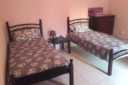 Purr-fectly central - twin beds - Doha