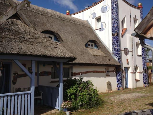 Hundertwasserhaus Börgerende - Börgerende-Rethwisch - Ház
