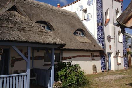 Hundertwasserhaus Börgerende - Börgerende-Rethwisch - Rumah