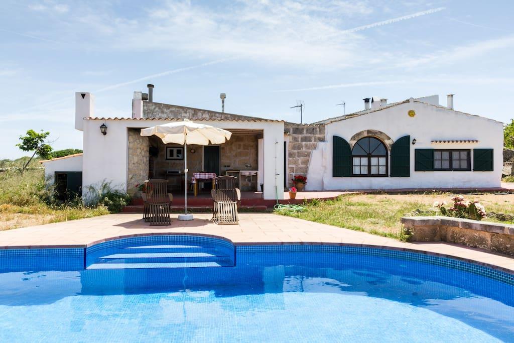 Casa rural en el campo de ciudadela casas en alquiler en - Casas en menorca ...