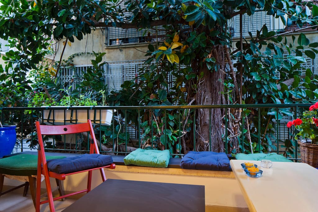 Beautiful apartment balcony in tel aviv apartments for for Beautiful apartment balconies