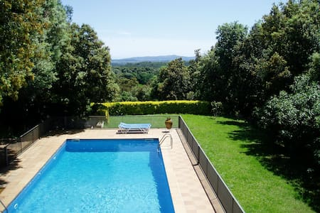 Costabravaforrent Carrió, with pool and garden - Foixà