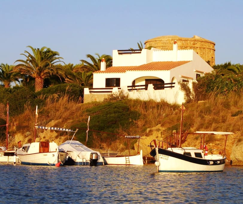 Swim in the sea under the villa or hire boats to explore the pretty beaches and bays