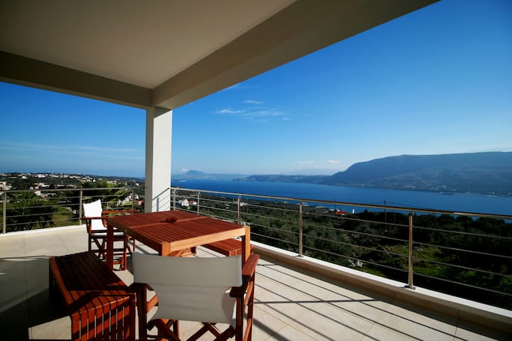 Amazing View, Brand New 2-Bedroom House in Chania! - Pithari - Huoneisto