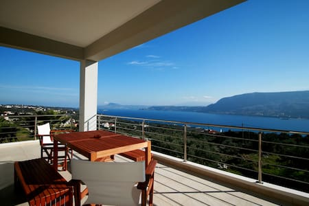 Amazing View, Brand New 2-Bedroom House in Chania! - Pithari - Apartamento
