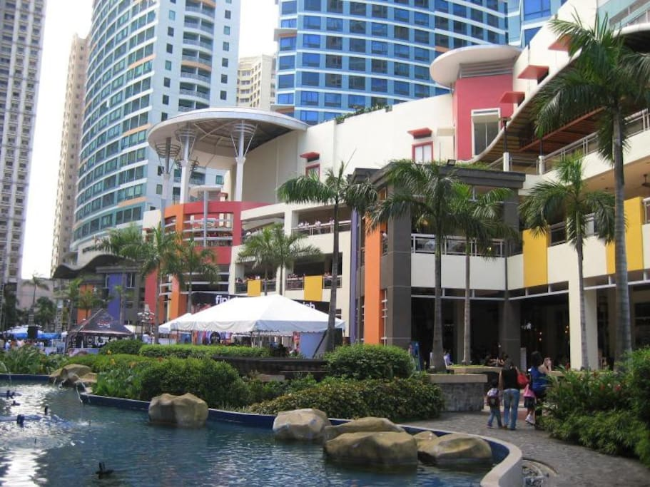 Eastwood City Walk and Eastwood Mall