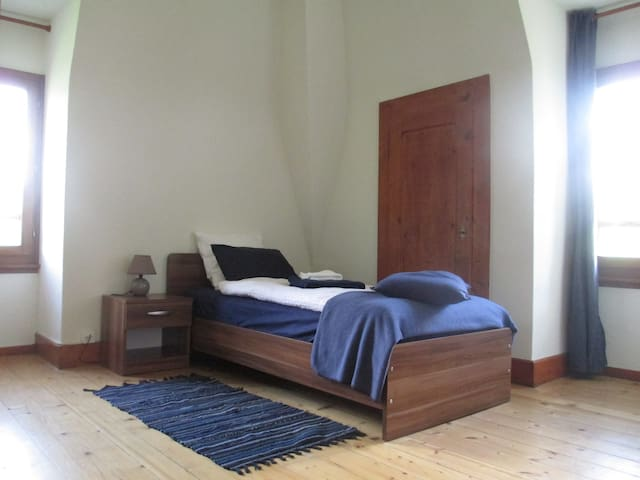Quiet Single Room in Traditional Swiss Villa - Lavey-Morcles - วิลล่า