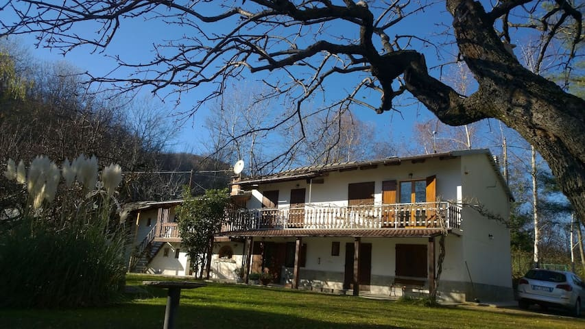 Tranquil mountain house -  dog friendly garden - Bagnolo Piemonte