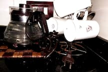 * Electric Glass Water boiler  * Many Mugs for Hot & Cold Drinks