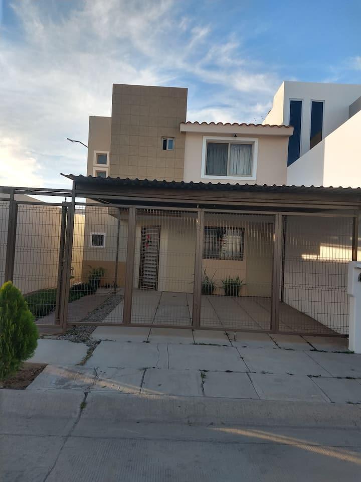 Cómoda casa en Los Mochis