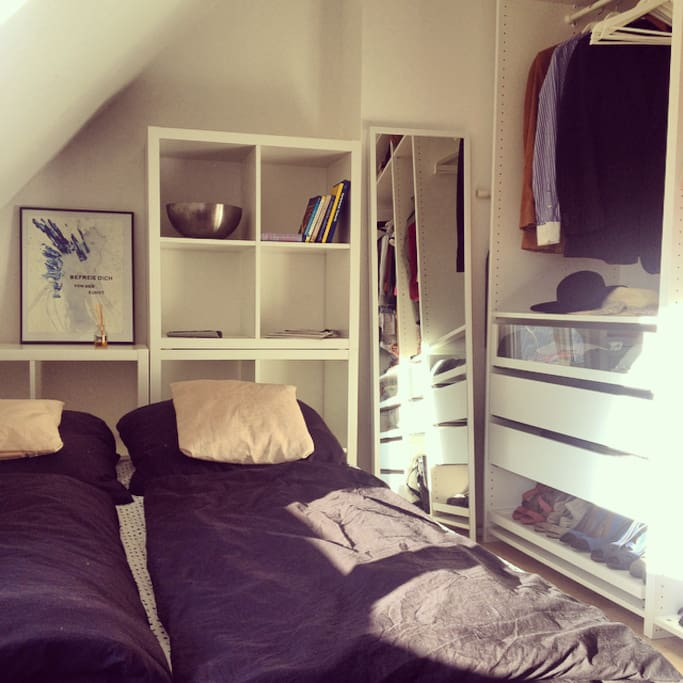Schlafzimmer, Kleiderschrank