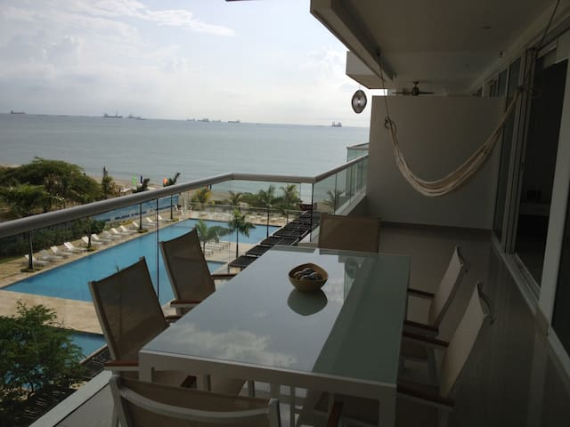 Modern apartment by the beach!! - Santa Marta - Leilighet