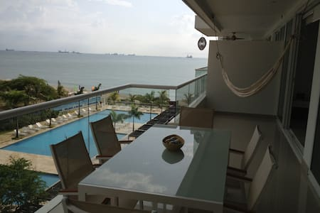 Modern apartment by the beach!! - Santa Marta