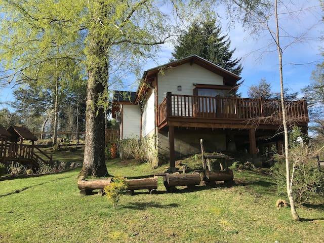 Cabaña nueva y totalmente equipada en Caburgua