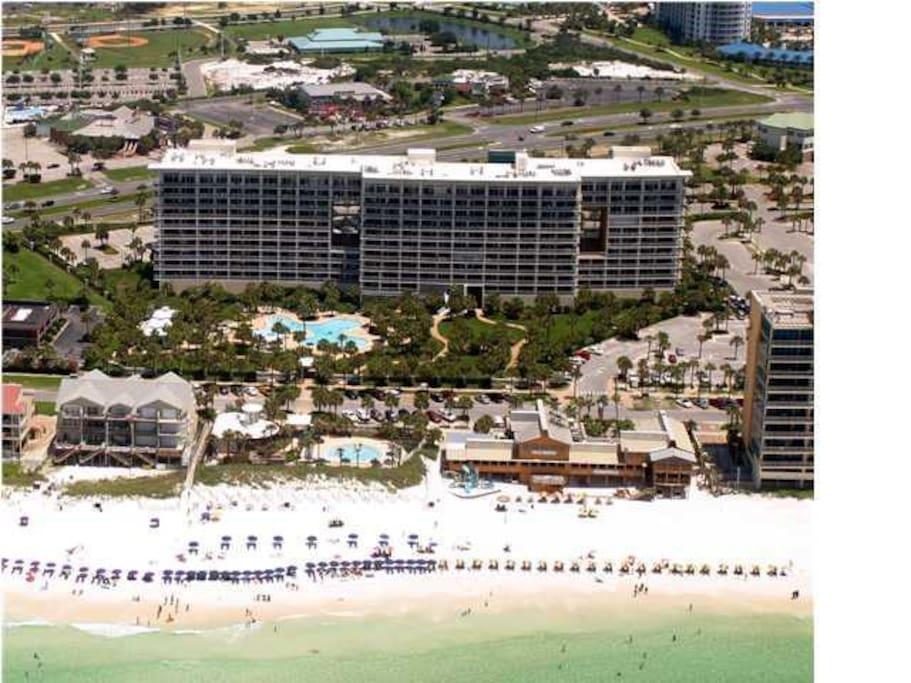 Beautiful beach 1 bedroom condo apartments for rent in - 1 bedroom beachfront condo in destin fl ...