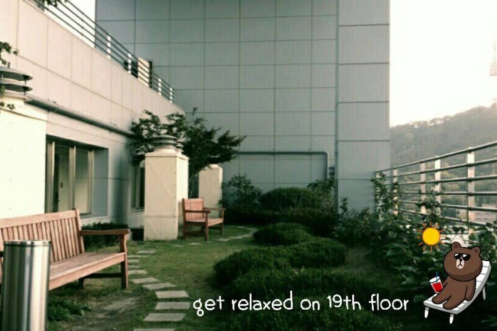 19th Floor there is sky Garden