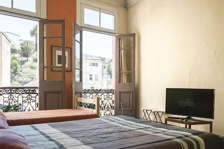 Dormitorio Privado 1 o 2 personas. - Valparaíso - Bed & Breakfast