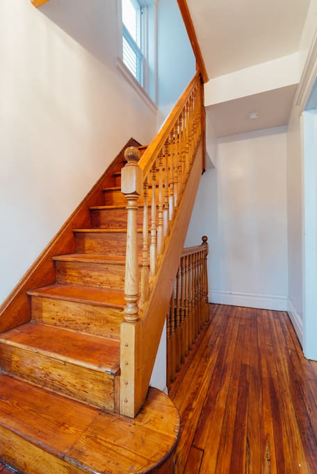 Apt is located on 2nd floor. Use of stairs is required