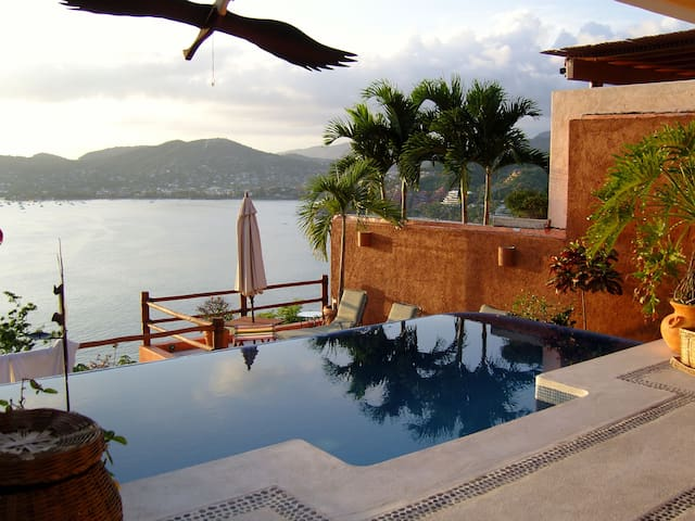 beautiful home pacific ocean view - Zihuatanejo - House