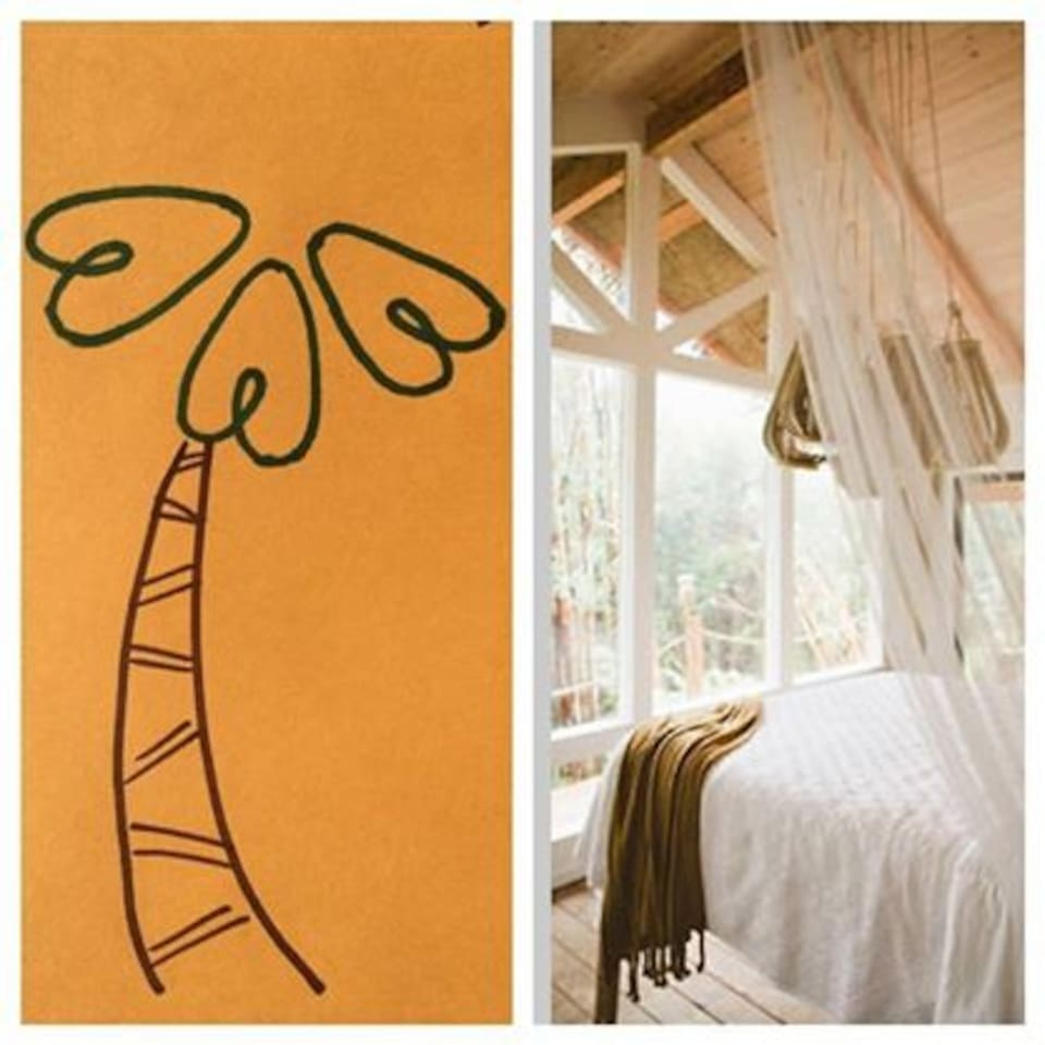 Belong anywhere. The treehouse's very own airbnb logo.