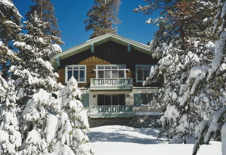 Alpine Chalet in Kirkwood