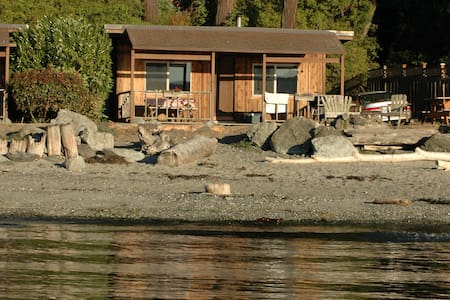 Beach Cabin (2BR, beach fire pit, west-facing)