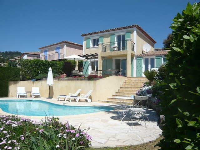 Villa Laurier, near Cannes with amazing views! - Mandelieu-La Napoule - Villa