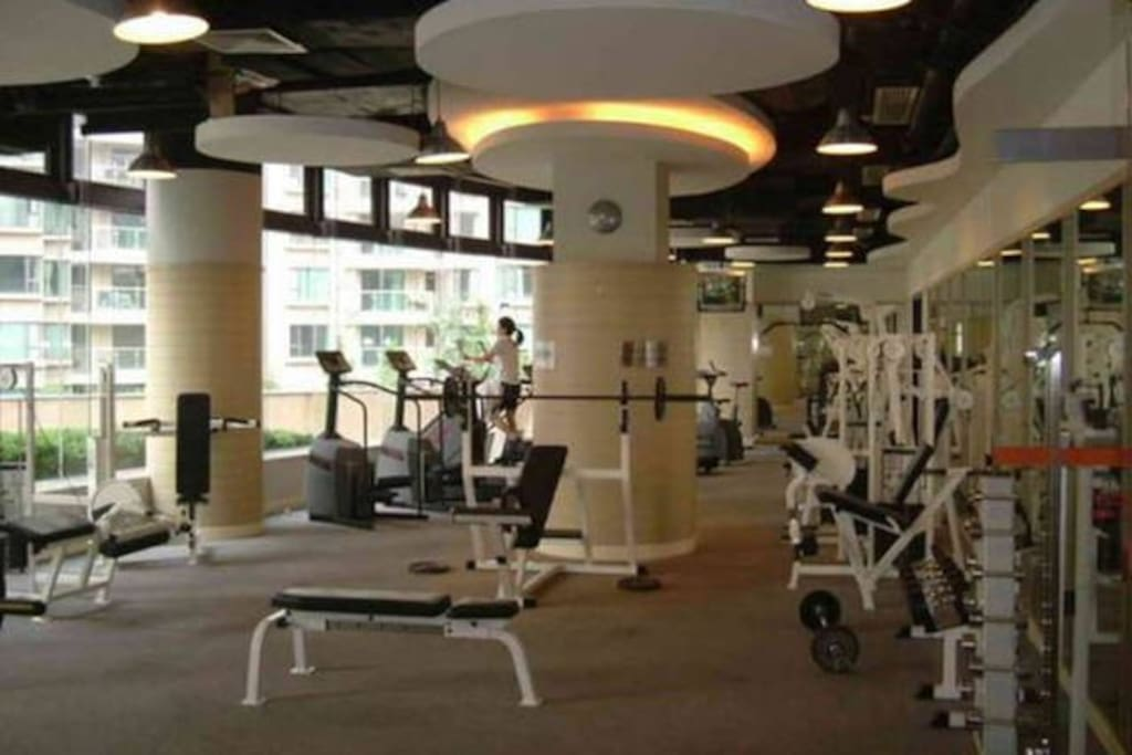 nearby mordern sport center with swimming pool allowing you to relax a bit