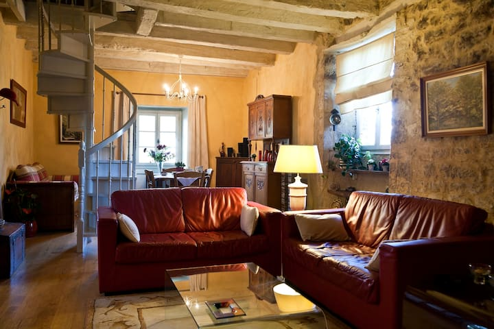 Duplex in a village in the Dordogne - Terrasson-Lavilledieu - Apartamento