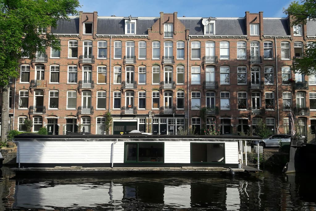 Houseboat near centre westerpark case galleggianti in for Case amsterdam affitto
