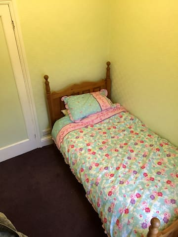 Single Room with Bed - Newport