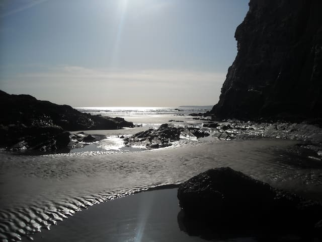 Grande Baie, Pentrez Plage, St Nic, Brittany - Saint-Nic - Casa