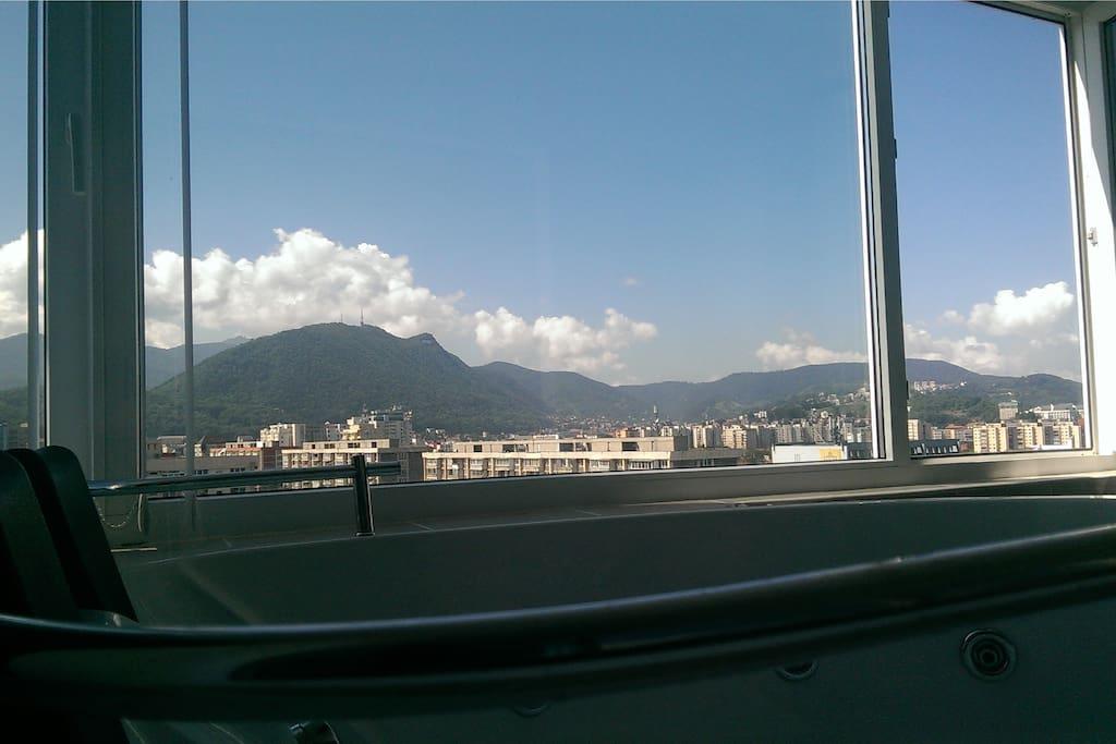 Balcony-jacuzzy view
