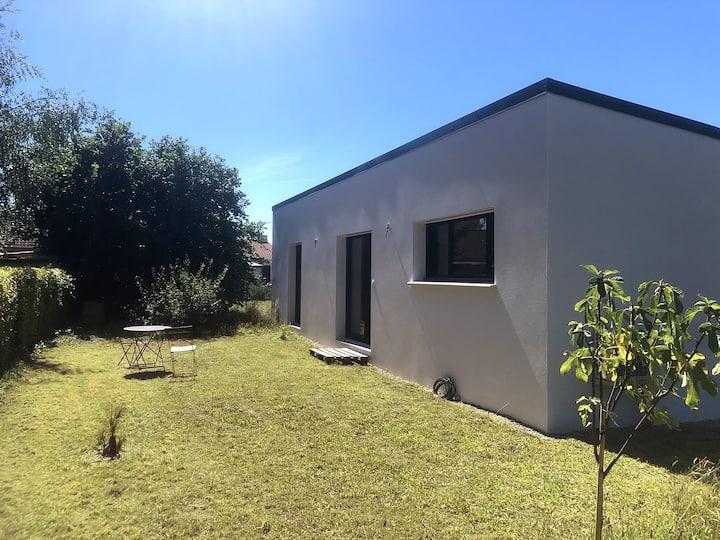 Maison neuve dans la campagne nantaise