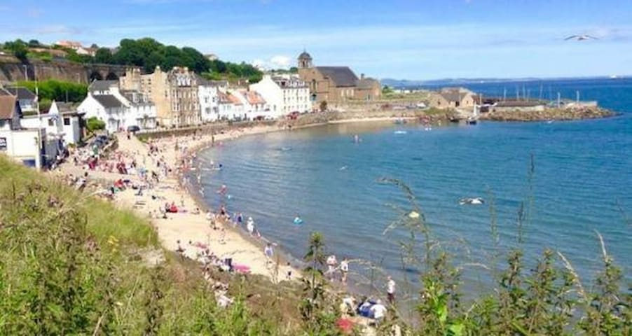 Seafront apartment in beautiful Kinghorn