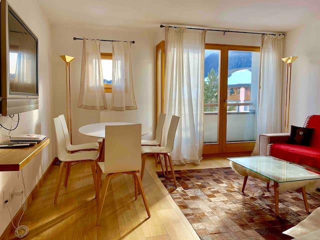 Beautiful new apartment in Celerina