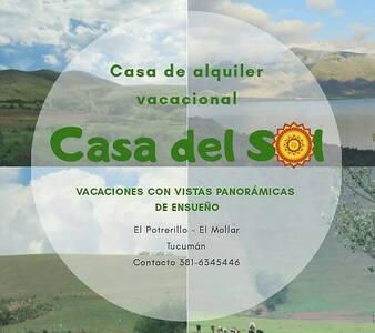 El Potrerillo-PARAISO TERRENAL-  CASA del SOL....