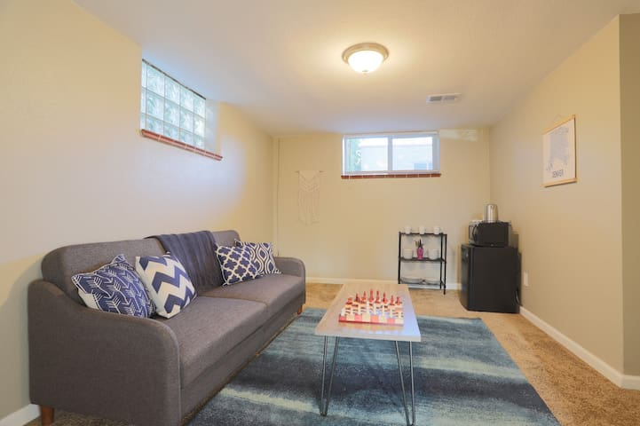 Basement Suite - Well-Lit, Bright, and Charming