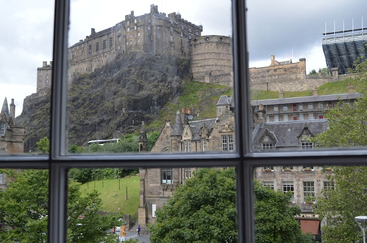 Spectacular castle view