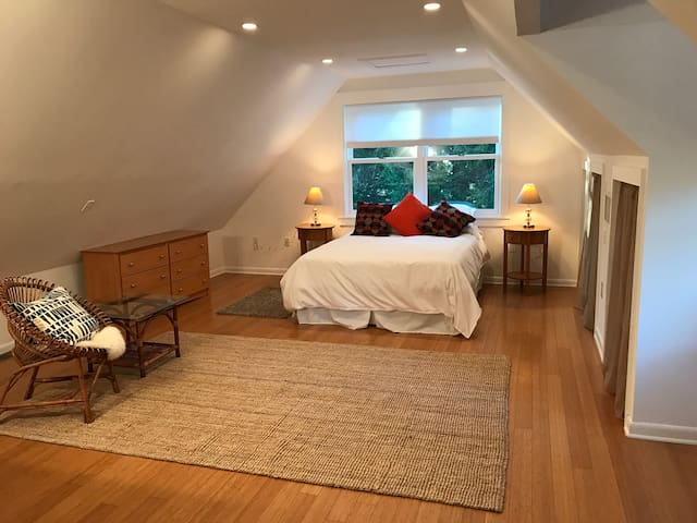 Spacious Studio in Nature Yet Convenient to DC - Harwood - Apartamento