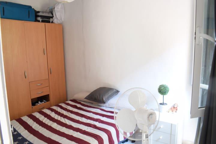 Cosy room in the best neighbourhood of Barcelona.